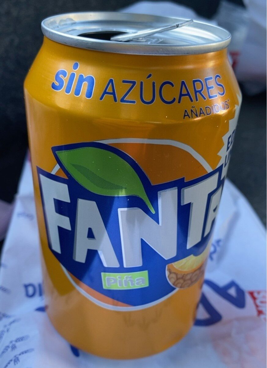 Fanta piña - Product - es