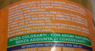 Fanta Original - Ingredienti - it