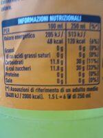 Fanta Original - Informazioni nutrizionali - it