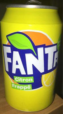 Fanta citron frappé - Producto - fr