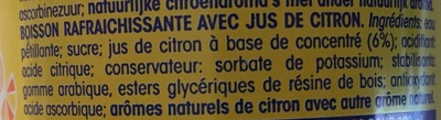 Fanta citron frappé - Ingredientes