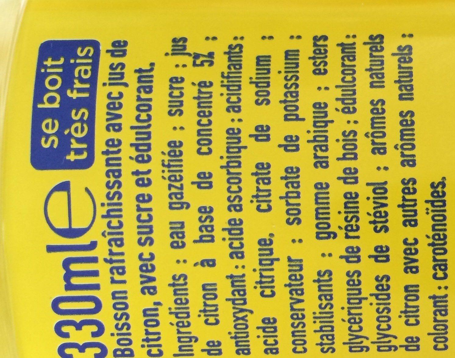 Fanta citron frappé - Ingredientes - fr