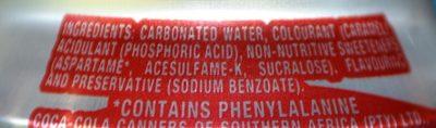 Tab - Ingredients