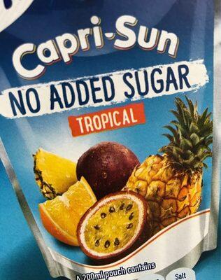 Capri-Sun Tropical - No added sugar - Prodotto - en