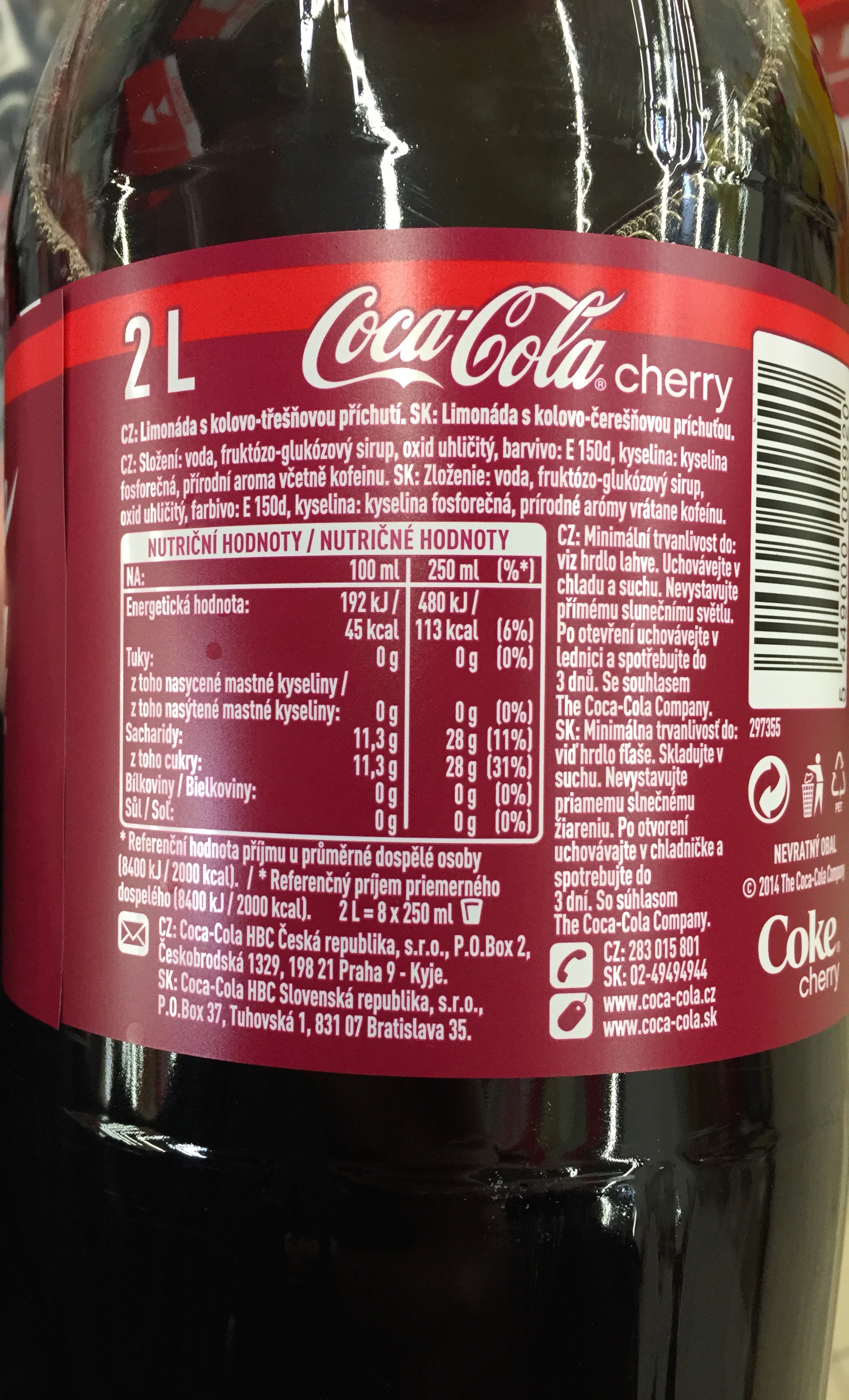 coca cola products list