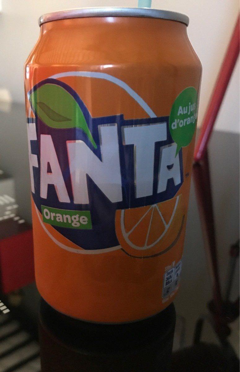 Fanta naranja - Produit