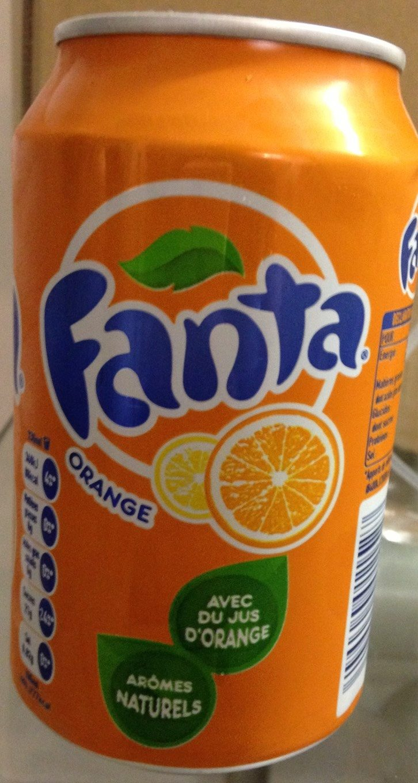 Fanta Orange - Producto