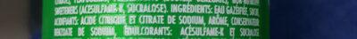 Sprite Lemon-Lime Low Sugar - Ingrédients - fr