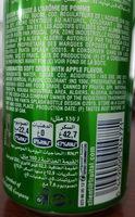 Fanta Pomme - Informations nutritionnelles