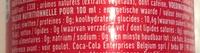 Coca Cola - Voedingswaarden - fr