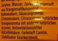 Fanta Orange - Ingredienti - de