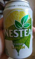 Refresco de té negro con limón sin azúcar sin calorías - Product - fr