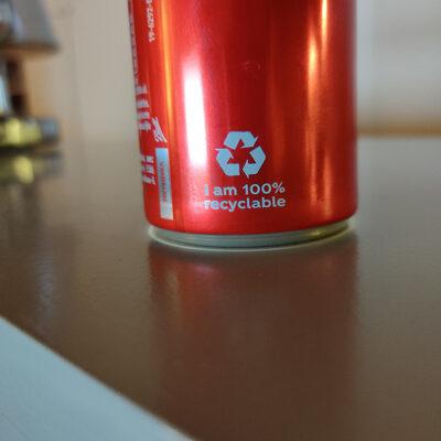 Coca Cola Zero - Recyclinginstructies en / of verpakkingsinformatie - fr