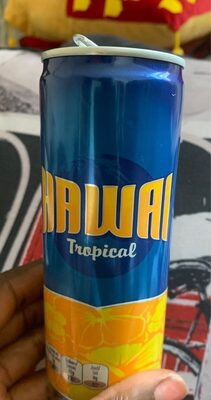Haway tropical - Informations nutritionnelles - fr