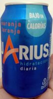 Aquarius naranja - Produit - es