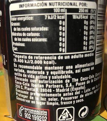 Nordic - Ingredientes - fr