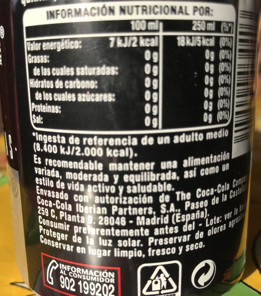 Nordic - Ingredients