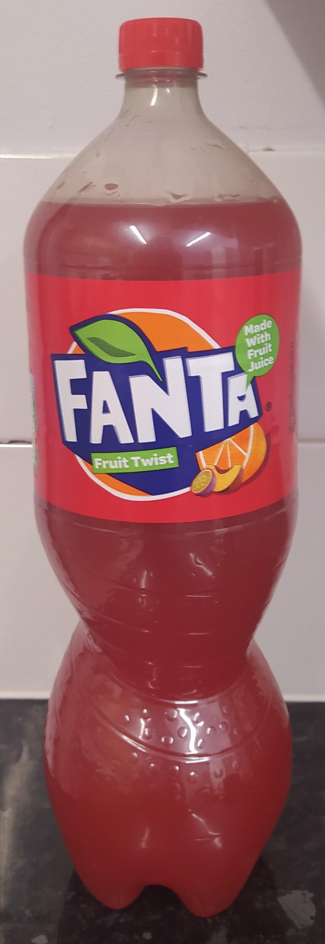Fanta Fruit Twist - Produit - en