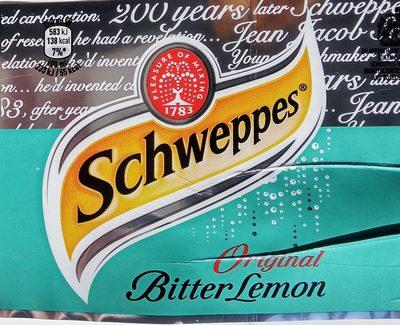 Schweppes bitter lemon - Производ - sr