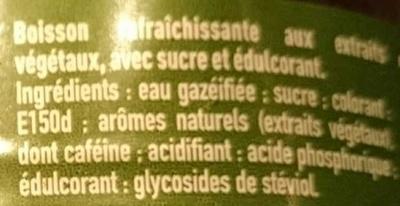 Coca-Cola life - Ingrédients - fr