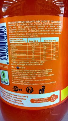 Orange - Zutaten