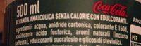 Coca-Cola Life - Ingrédients