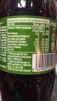 Coca-Cola Life - Informations nutritionnelles