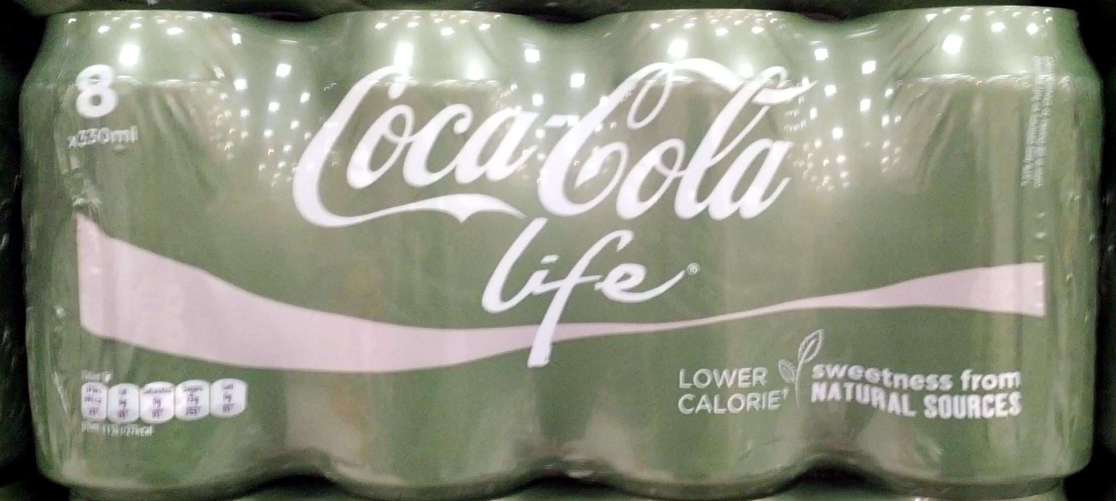 Coca-Cola Life - Product - en