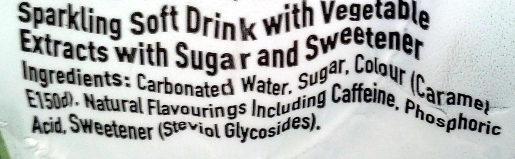 Coca-Cola Life - Ingredients - en