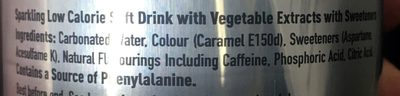 Diet Coke (made In GB) - Ingredients - en