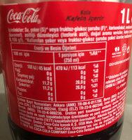 Coca cola - İçindekiler - tr