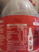 Coca cola - Informations nutritionnelles - fr