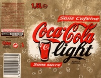 Coca-Cola Light - sans caféine, sans sucre - Prodotto - fr