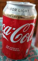 Coca-Cola light sin cafeína - Prodotto - es