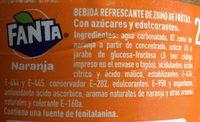 Refresco naranja - Ingrédients - fr