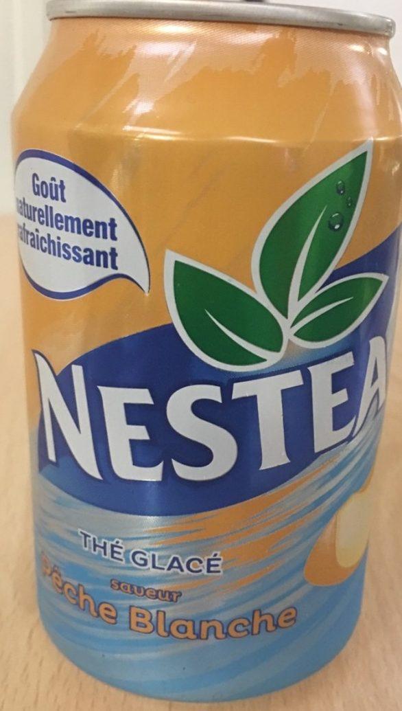 Nestea Pêche blanche - Produit - fr