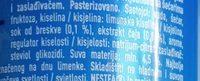 Nestea Pêche blanche - Sastojci - sr