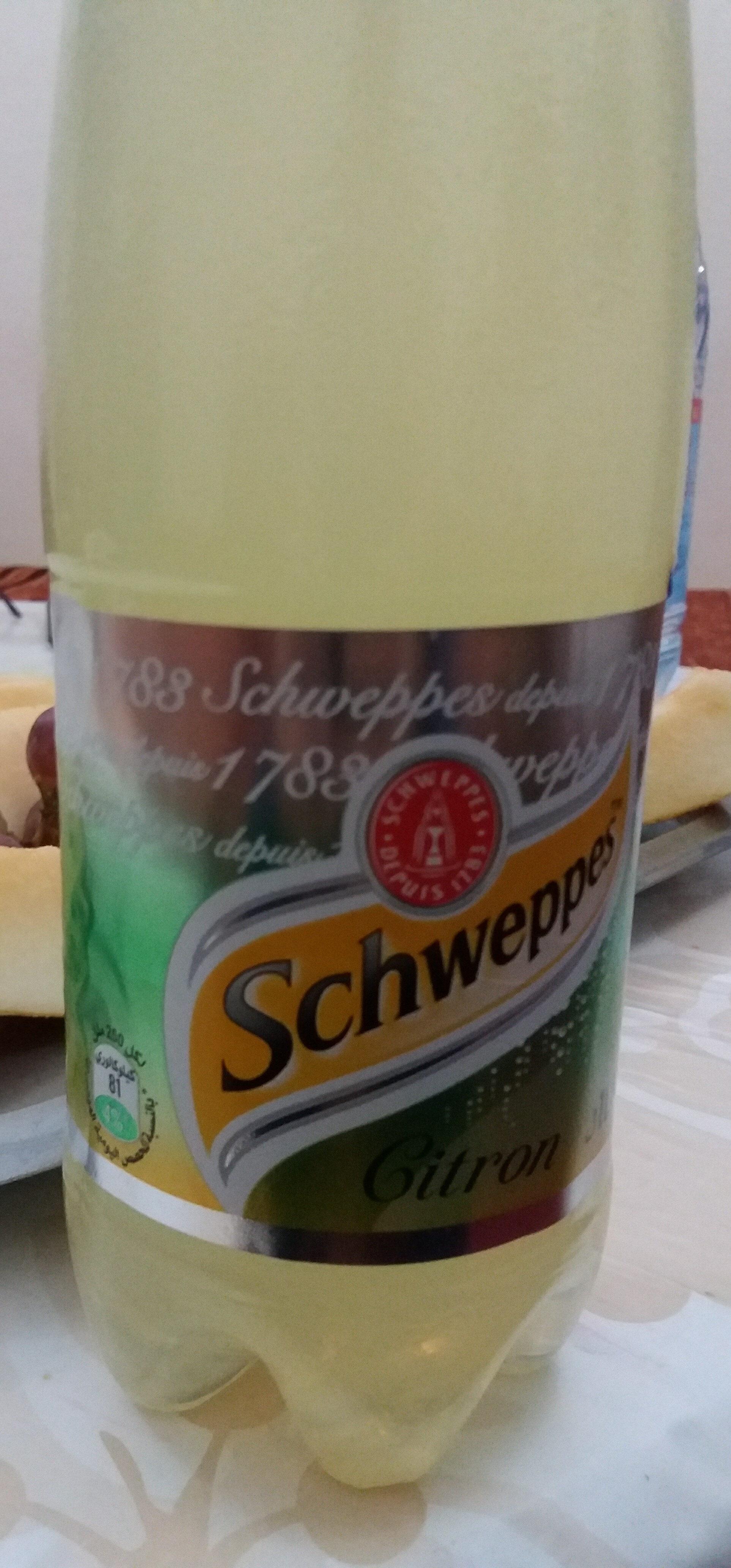 Schweppes citron - Produit - fr
