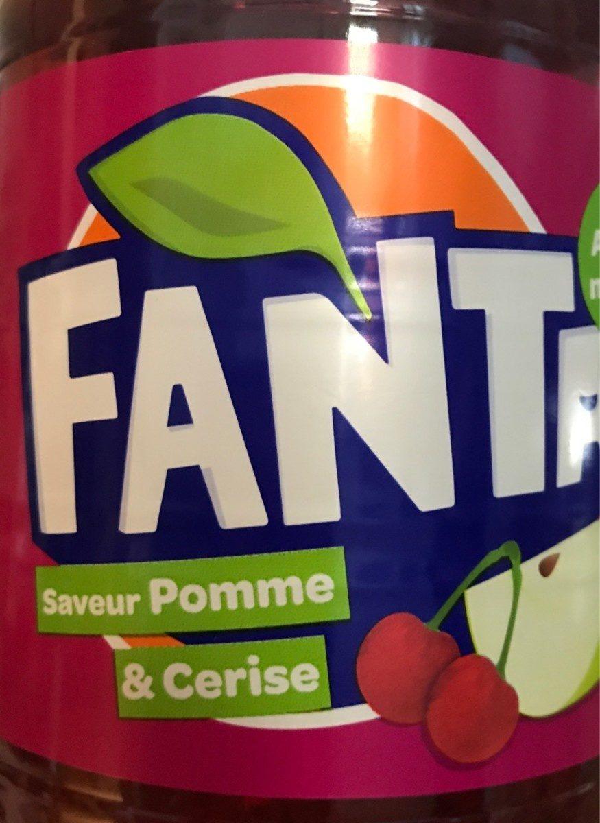 """Fanta"" ( Pomme Cerise ) - Produit"