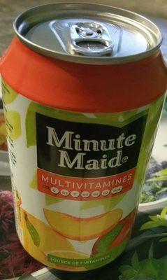 Minute Maid multivitamines - Product - fr