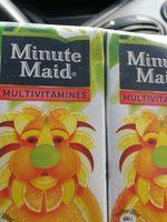 Minute Maid Multivitamins Brik 20CL 4-pack - Ingrediënten - fr
