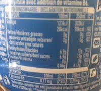 Aquarius Blueberry - Voedingswaarden