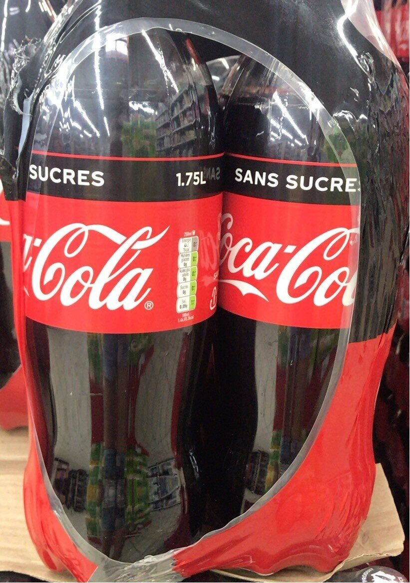 Coca cola zero sucre - Produit - fr