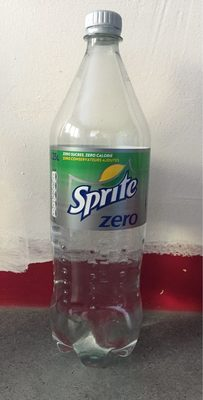 Sprite Zero - Informations nutritionnelles