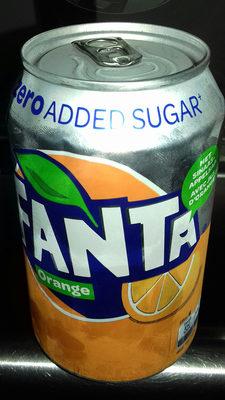 Fanta orange zéro - Product
