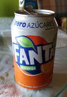 Fanta orange zéro - Product - fr