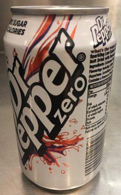 Dr Pepper Zero - Product - fr