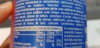 Aquarius Red Peach - Ingrediënten - fr