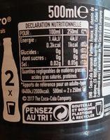 Coca-Cola Zero - Ingredienti