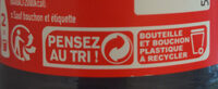 Coca-Cola Zero Sugar - Instruction de recyclage et/ou informations d'emballage - fr